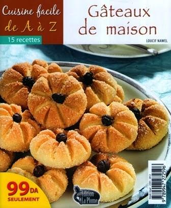 Livre Cuisine Facile Gateaux De Maison Fr Ar الطبخ السهل حلويات