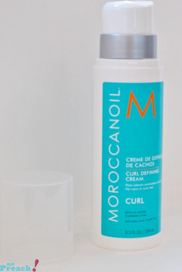 Review: Moroccanoil Curl Control Cream - testado: resenha creme de definição de cachos - leave-in