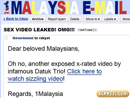 1malaysia email sex video
