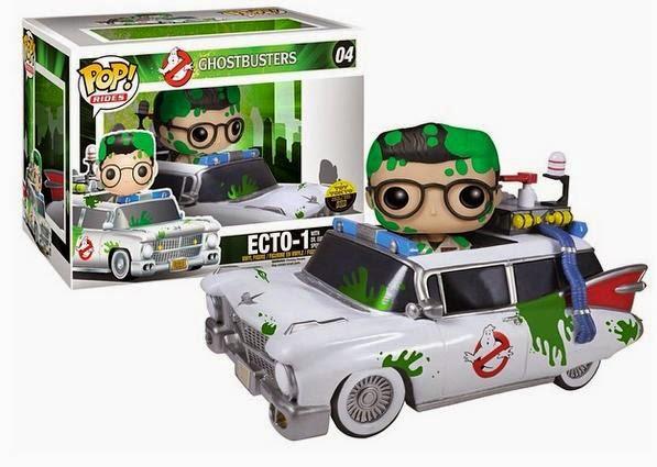 04.- Coche de los Cazafantasmas con Egon Funko Pop!