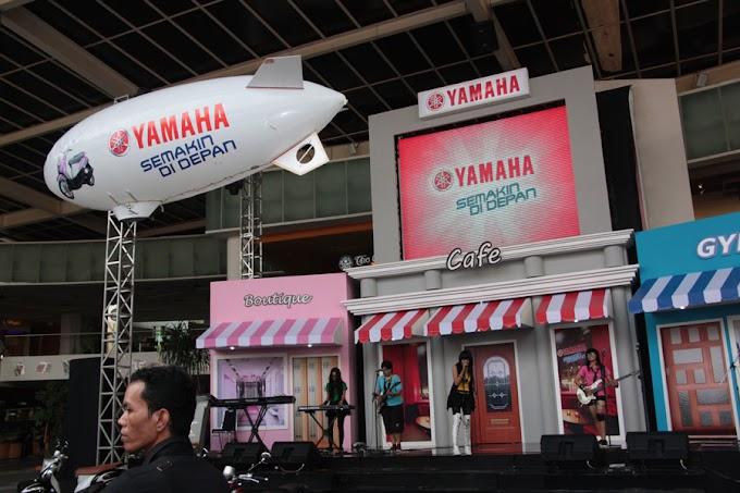 Sukses Launching Mio Fino di Surabaya