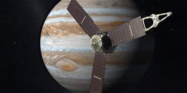 La nave 'Juno' afronta su llegada a Júpiter