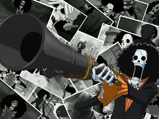brooke one piece wallpaper strawhat mugiwara pirate anime