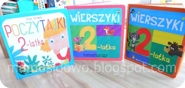 Wierszyki 2-latka i Poczytajki 2-latka - Biblioteczka Majki