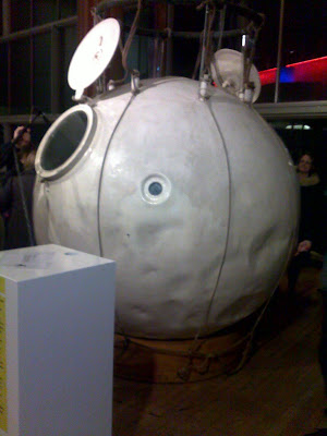 Auguste Piccard's balloon, Festival Hall, London, 1 April 2011