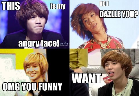 First one. SHINee! Most of it are Taemin macros.