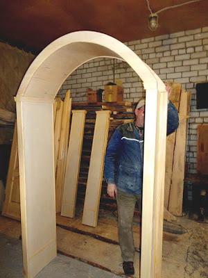 Как сделать своими руками арку из дерева