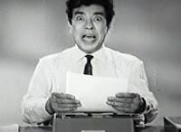 Propaganda dos anos 60 da Ultralar. Campanha promovia a linha de máquinas de escrever.