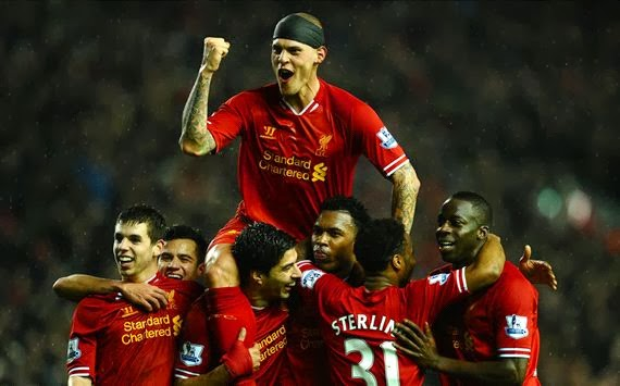 LIVERPOOL 4 - 0 Everton  #29/01/2014  #EPL