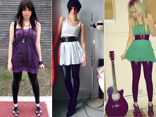 modelos de Vestidos com Legging