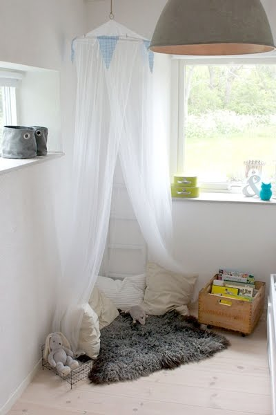 Casas cosas y dem s rincones infantiles - Ideas para cortinas infantiles ...
