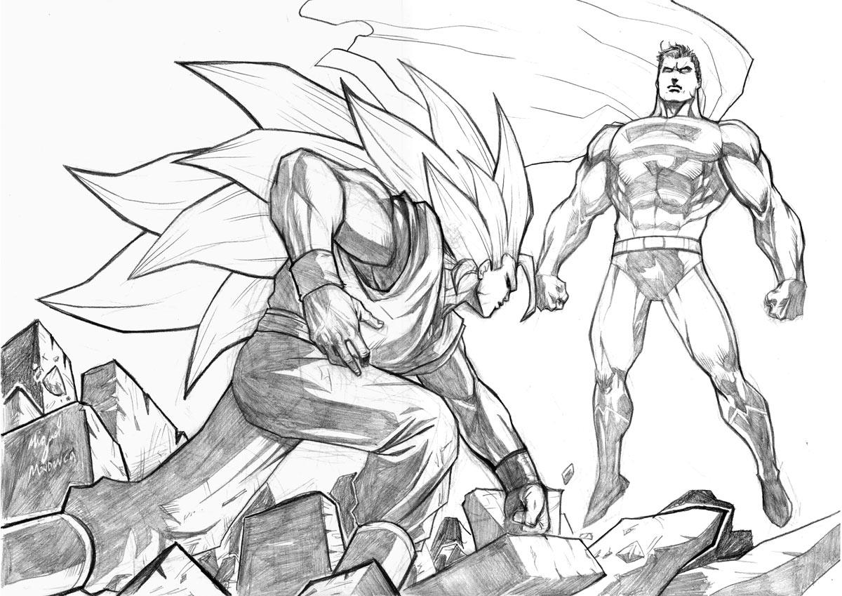 Blog MegaDiverso: Superman para descargar y pintar