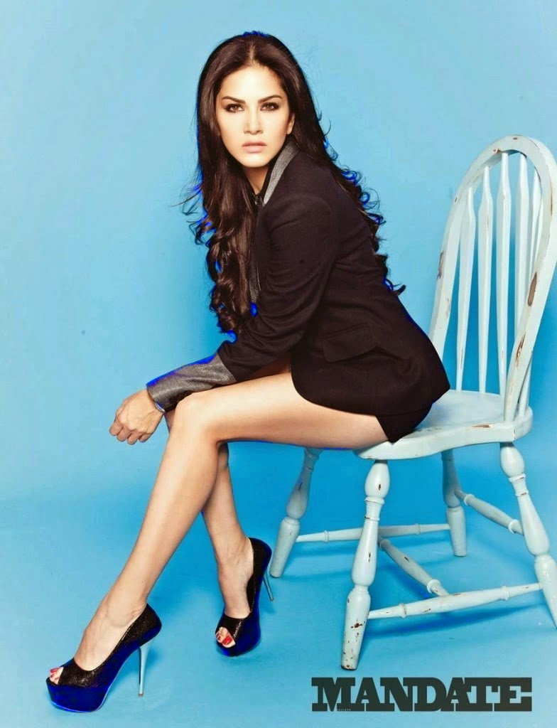 Hot Sunny Leone HD Photo Shoot For Mandate Magazine
