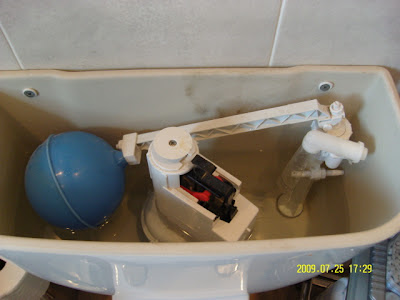 Cistern Toilet Water Flush Empty Waste