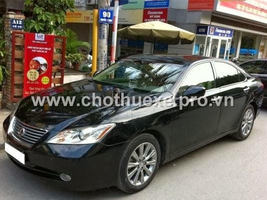 Cho thuê xe Lexus ES350 4 chỗ hạng sang