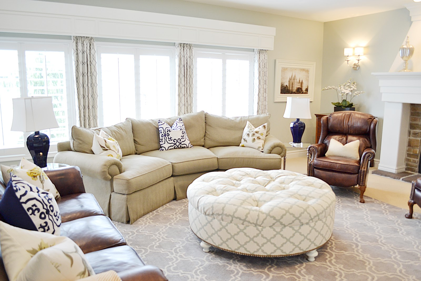 Local Client Family Room Reveal - Sita Montgomery Interiors