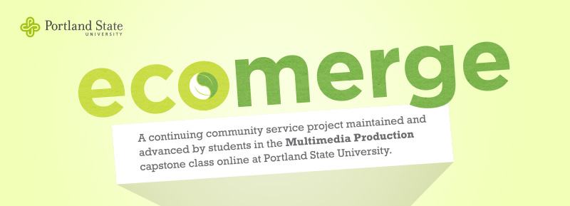 EcoMerge Project at Portland State University