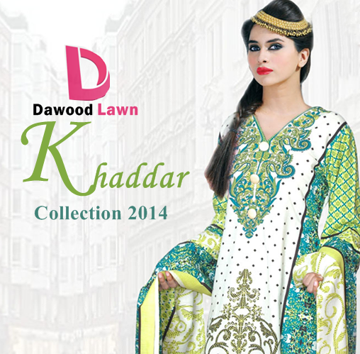 Dawood Khaddar Collection 2014