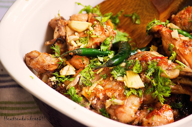 chicken karahi peshawari style recipe