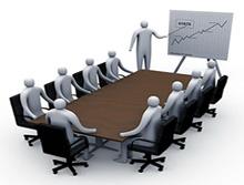 Reuniones de negocios con ejecutivos