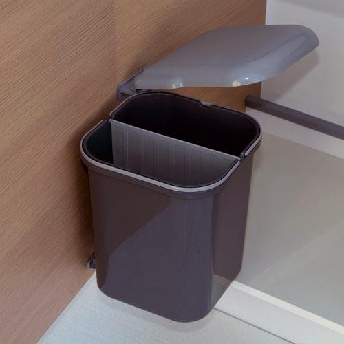 Cubo apertura automatica tu cocina y ba o - Cubo basura puerta ...