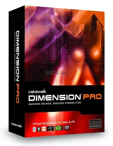 Cakewalk Digital Sound Factory Volume 1 Dimension Pro Expansion Pack Mac osx UB