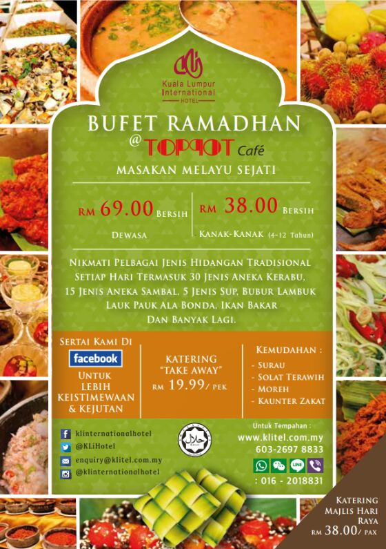 Buffet Ramadhan Di KLI Hotel International