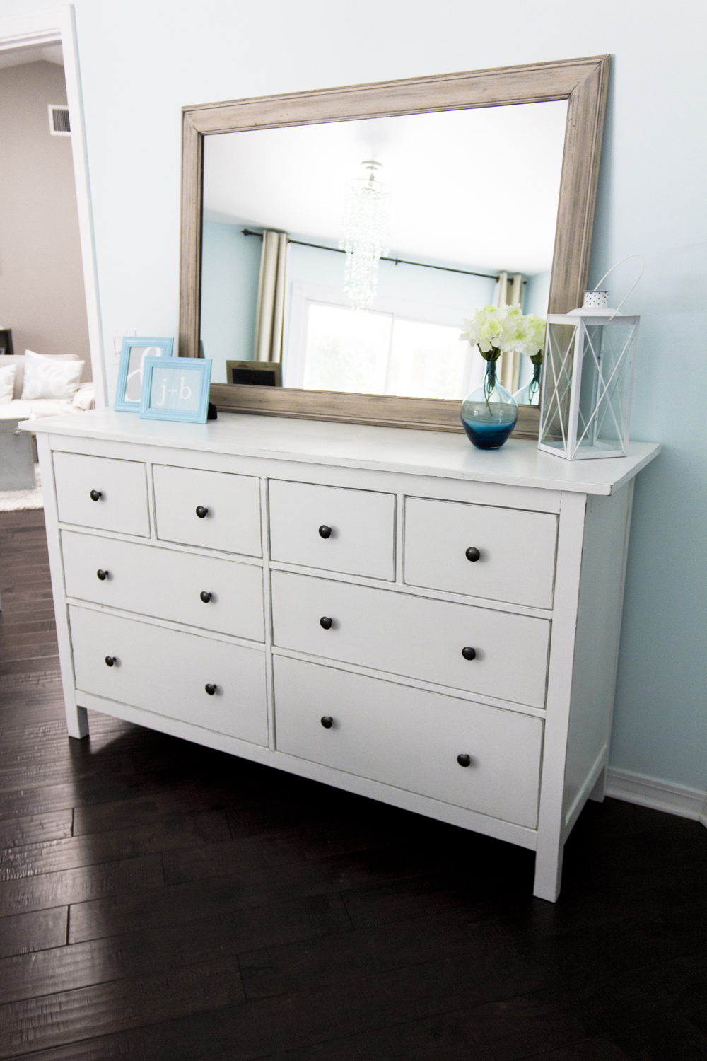 building a home remodeling ikea hemnes dresser hack a pinterest challenge project. Black Bedroom Furniture Sets. Home Design Ideas