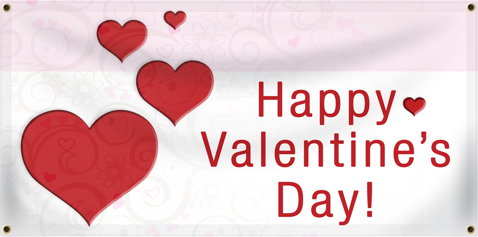 Schön Happy Valentineu0027s Day Banner | Banners.com
