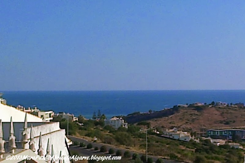 Sea view from Pateo, Albufeira