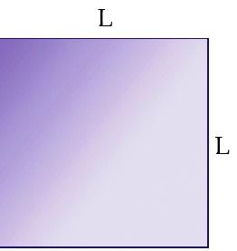 Logam berbentuk persegi jika dipanaskan akan memuai.