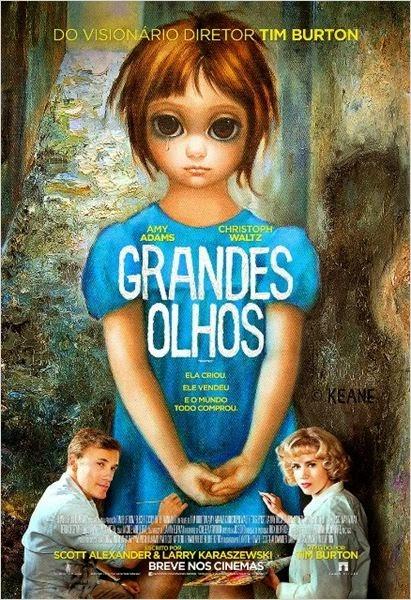 "Poster do filme ""Grandes Olhos"""