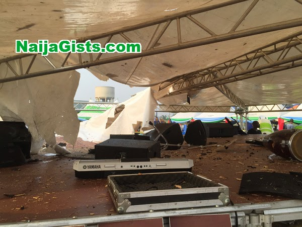 apc rally venue bombed rivers state