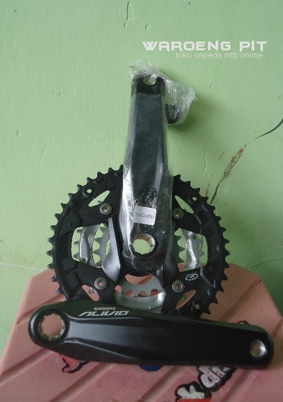 Jual Crank Set Shimano Alivio Sepeda Mtb murah