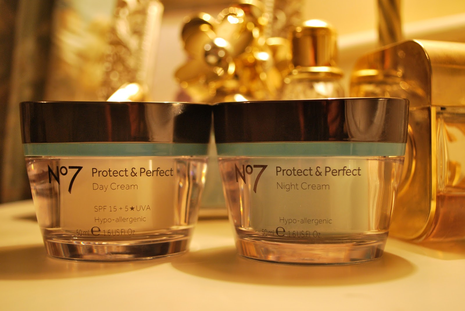 No7 Protect & Perfect Day Cream and Night Cream