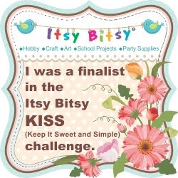 Itsy Bitsy 'KISS' challenge finalist