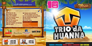 CD Trio da Huanna – Verão 2015
