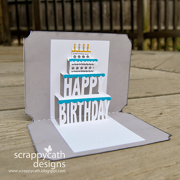 Scraps of Life Pop up Birthday Card – Pop Up Birthday Card Templates
