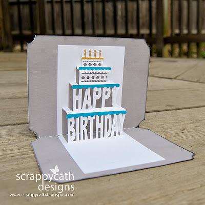 Pop Up Birthday Card Template