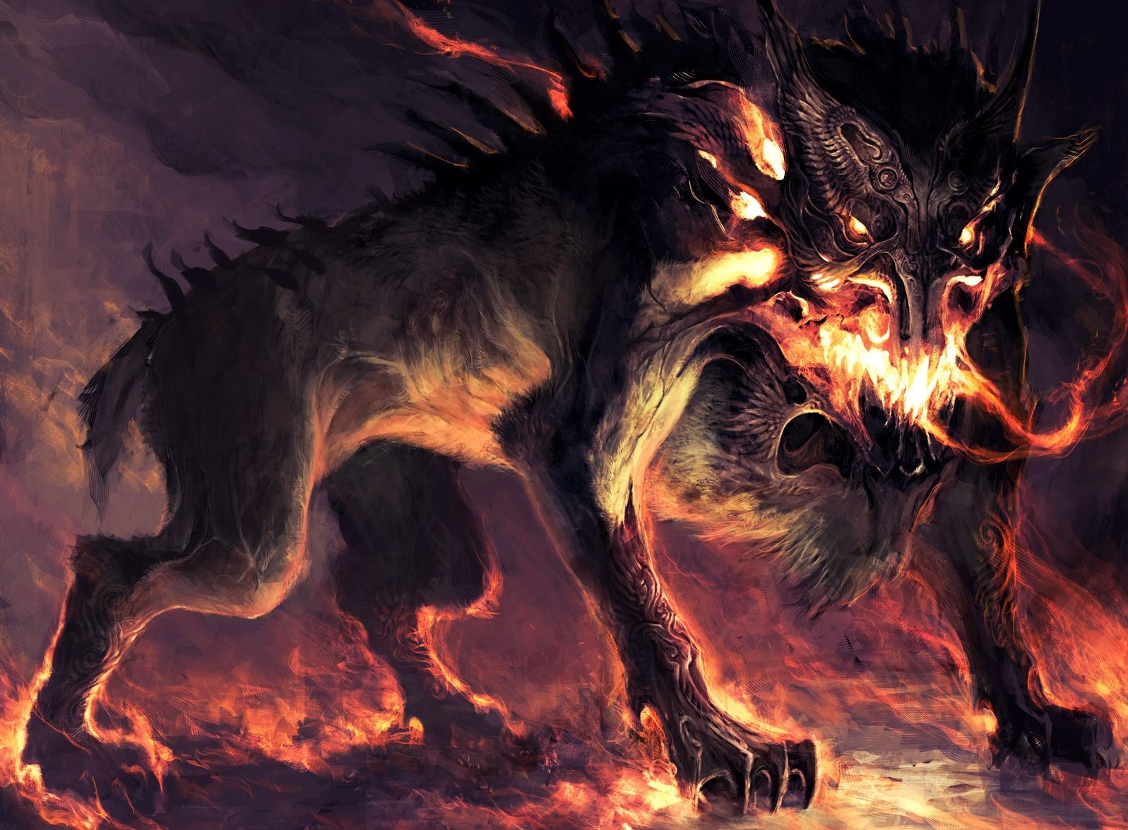 beast wolf wallpaper art - photo #44
