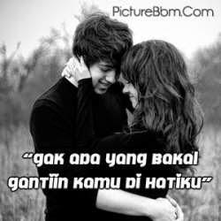 DP BBM Romantis Mesra