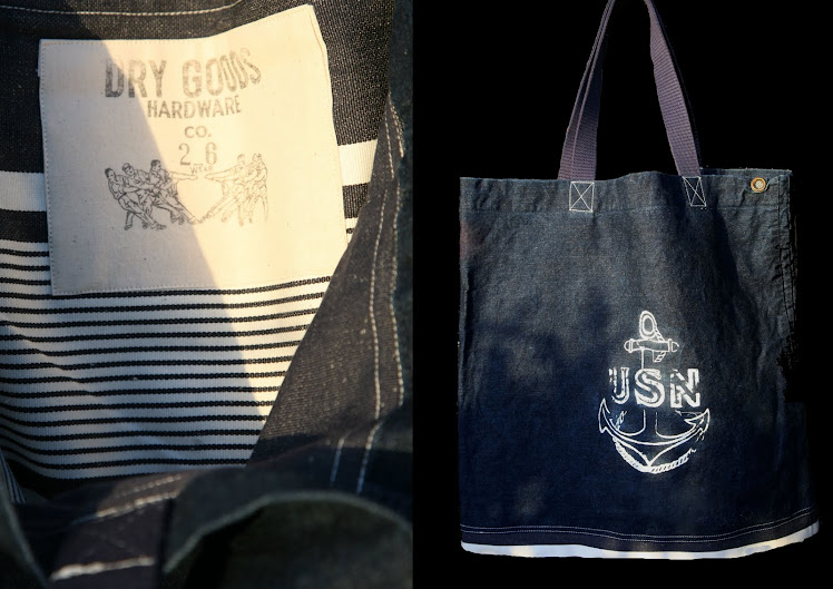 USN VA-26 BLUE VOYAGE DENIM DECK BAG
