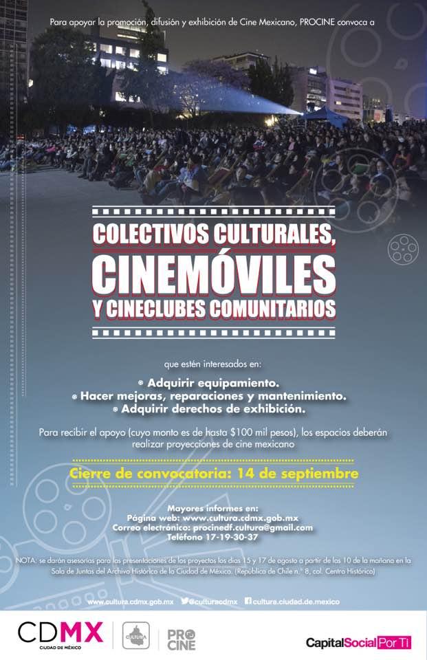 Atención cineclubes de la Ciudad de México