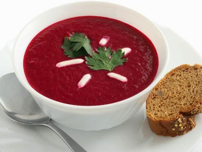 حساء الشمندر أو الباربا أو البنجر Betteraves