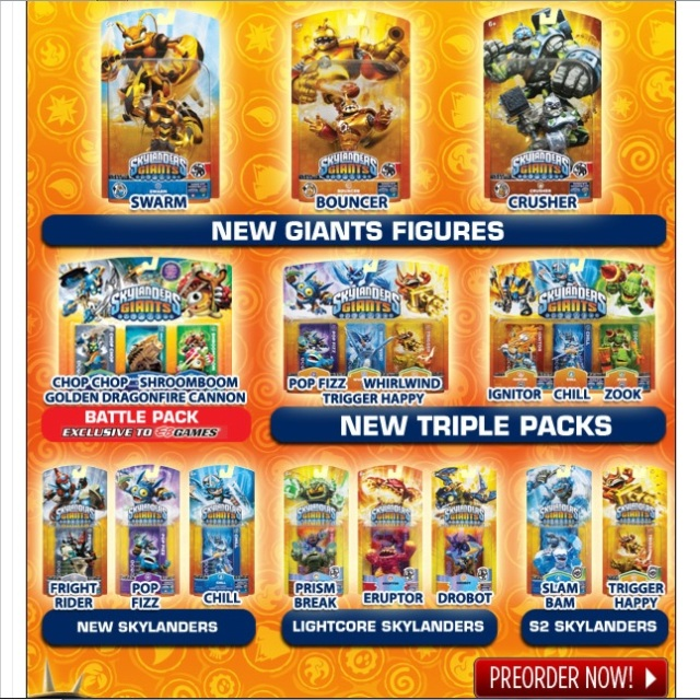 Skylanders Giants: Wave 1