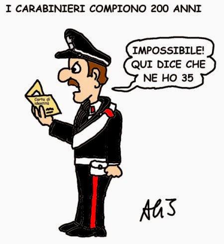 vignetta Carabinieri