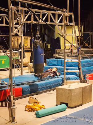 Цирк дю Солей, спортивный инвентарь