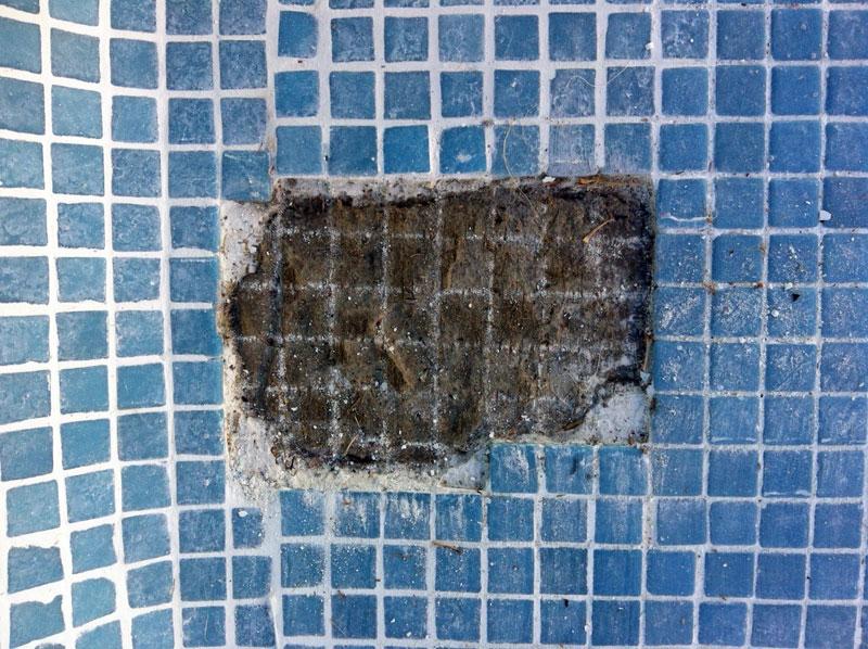 El blog de las piscinas - Como poner gresite ...