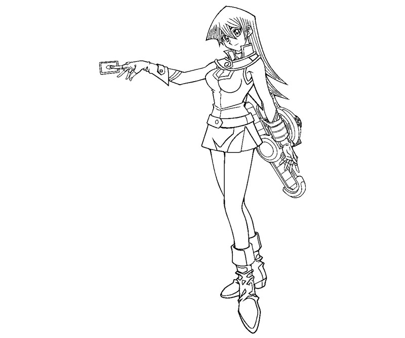 yugioh gx coloring pages - photo#24