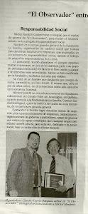 RECONOCIMIENTO A GERENTE GENERAL DE FUNDACION LA SEMILLA